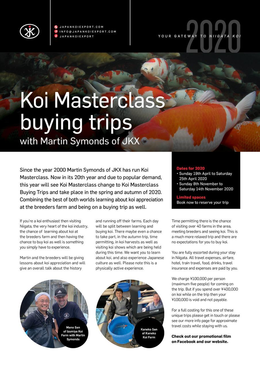 Koi masterclass